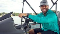 Bubba Wallace NASCAR Sportfishing Columbia Fishing Sportswear PFG