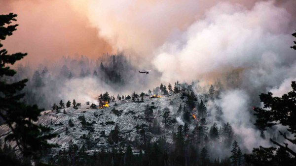 Yosemite National Park has closed to visitors due to hazardous air conditions caused from local wildfires.