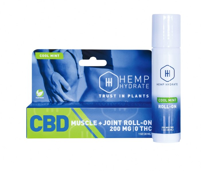 Hemp Hydrate Cool Mint Muscle + Joint Roll-On