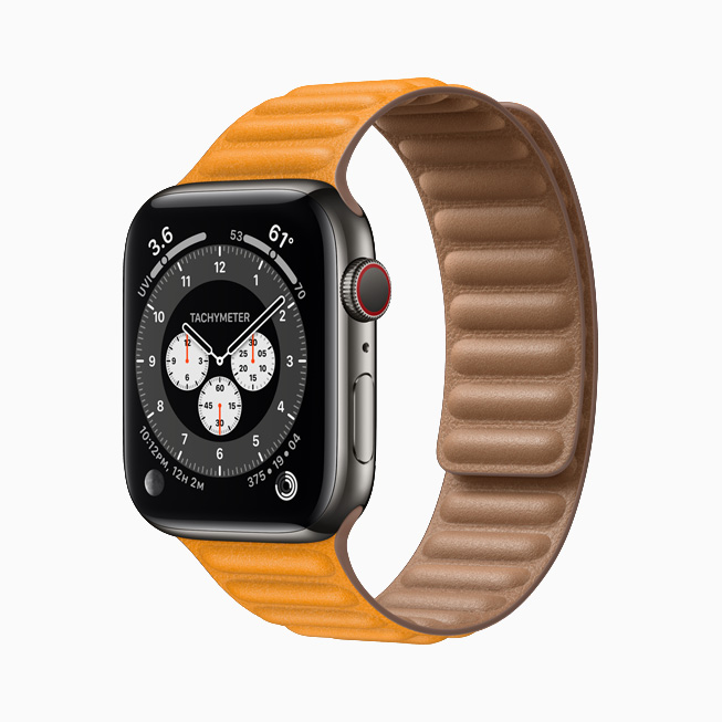 The Apple Watch Series 6 with SIM will retail for $399.