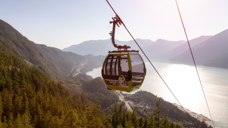 30 Sea-to-Sky Gondolas came crashing down in Squamish, British Columbia after a early morning vandalism.