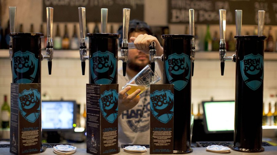 "BrewDog Brewery joined forces with Schorschbräu to brew the ""strongest beer on Earth""."