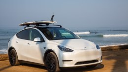 Testing the Tesla Model Y on an all-electric California surf trip