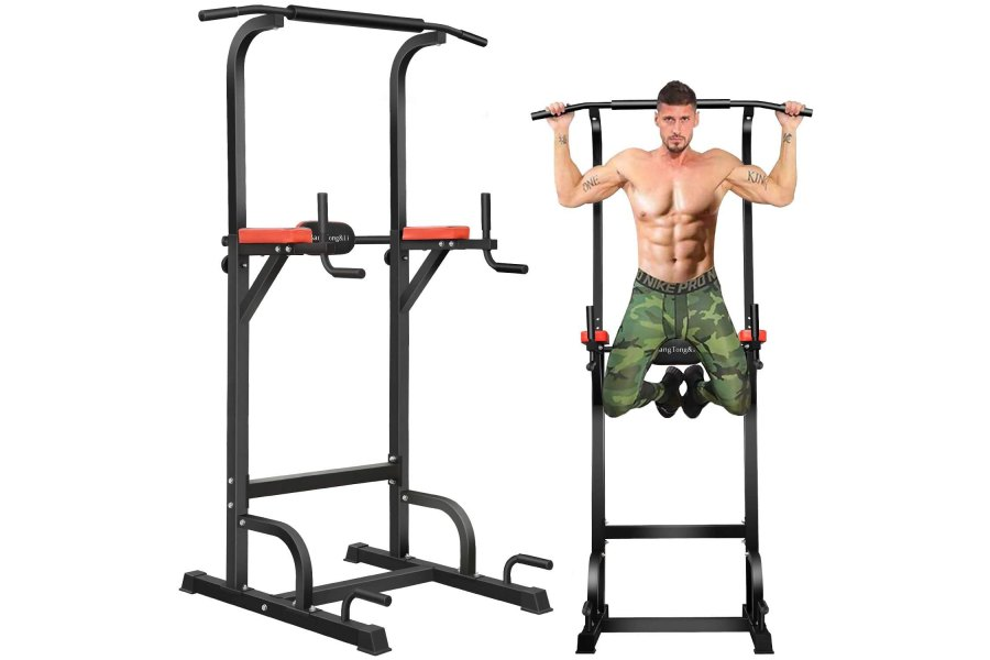 BangTong&Li Power Tower Workout Pull Up & Dip Station