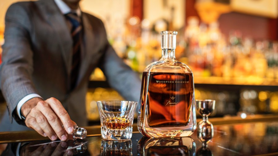 Woodford's Cognac Cask-Finished Baccarat