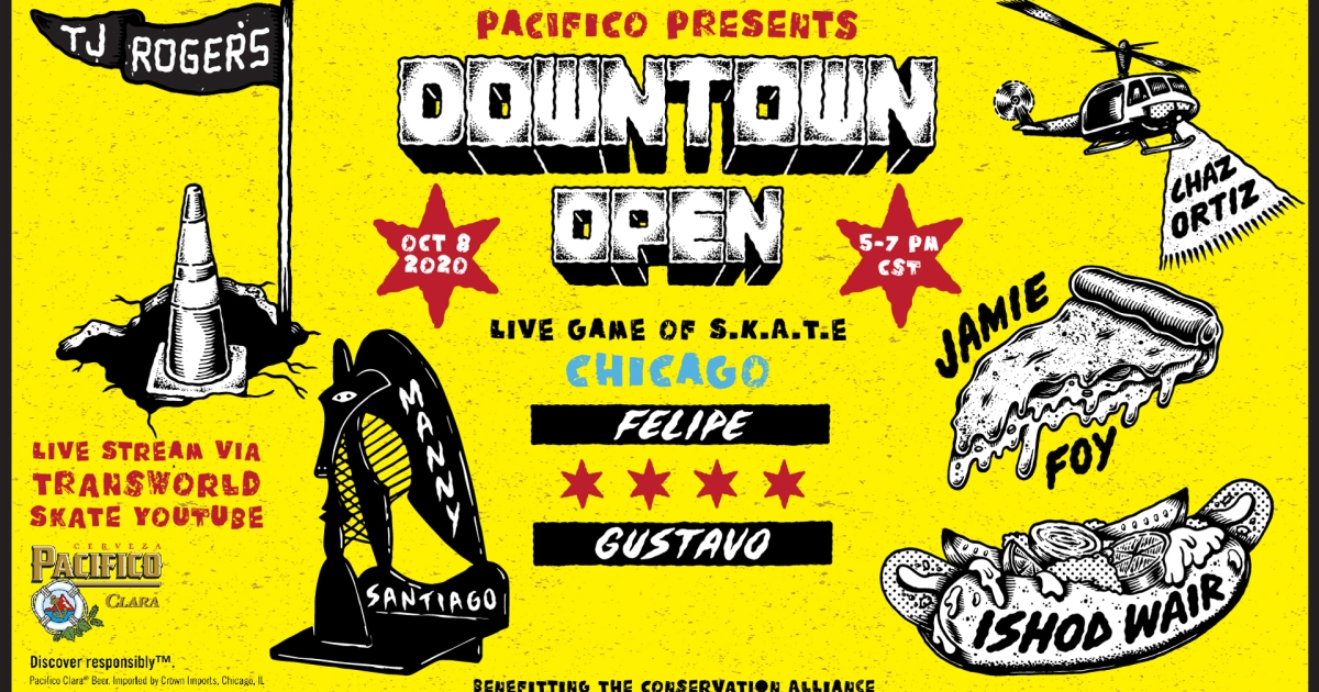 Pacifico to Host First-Of-Its-Kind Virtual Skate Competition in Chicago