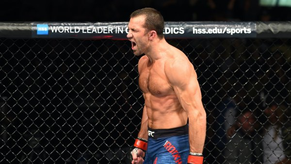 UFC fighter Luke Rockhold