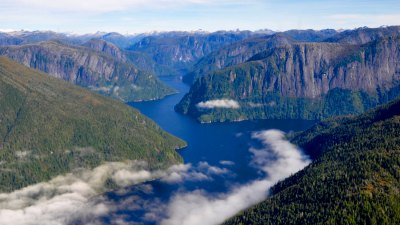 Misty Fjords National Monument in Tongass National Forest.