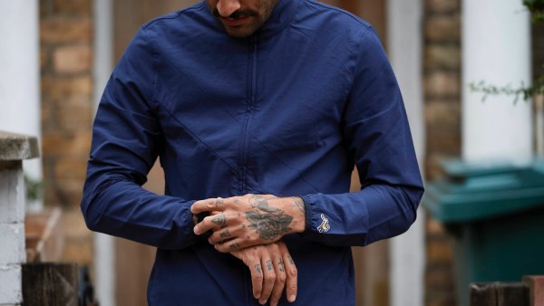 Tracksmith Run Commute Jacket