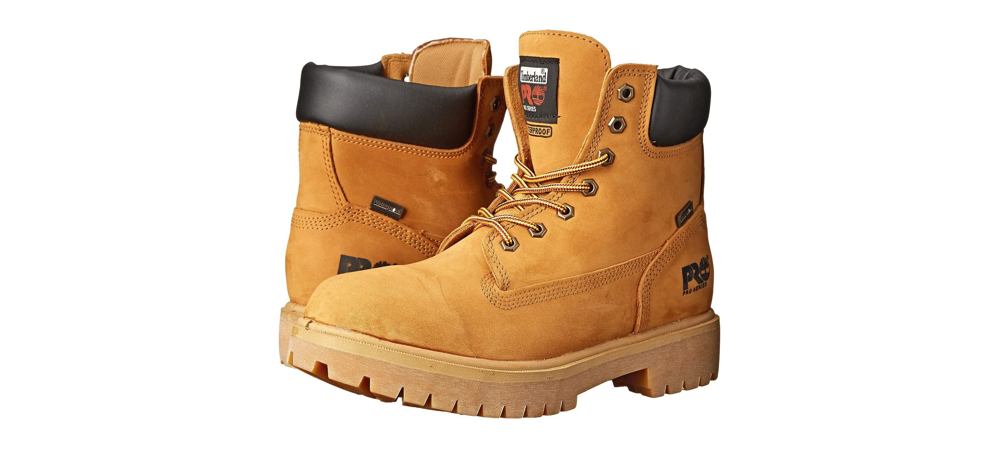 These Discounted Timberland Soft Toe Boots