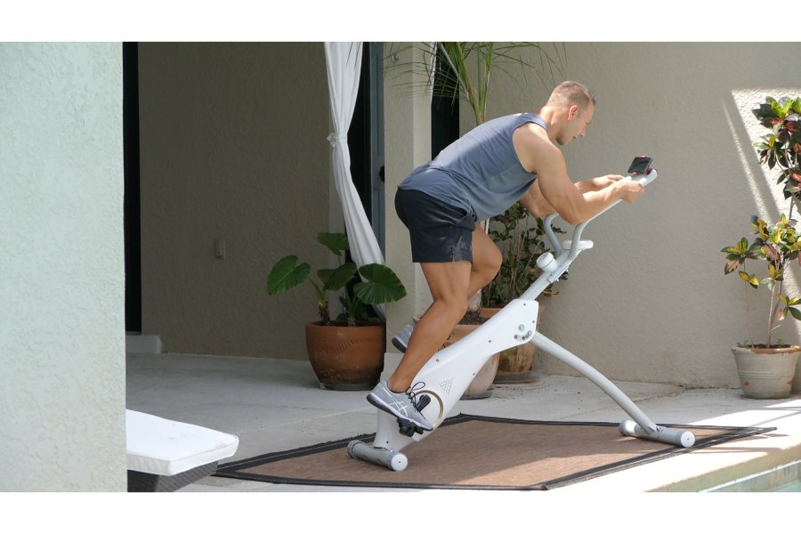 Vertical Cycle Trainer