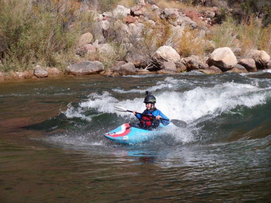 Bodie Hilleke Grand Canyon Youngest Paddler