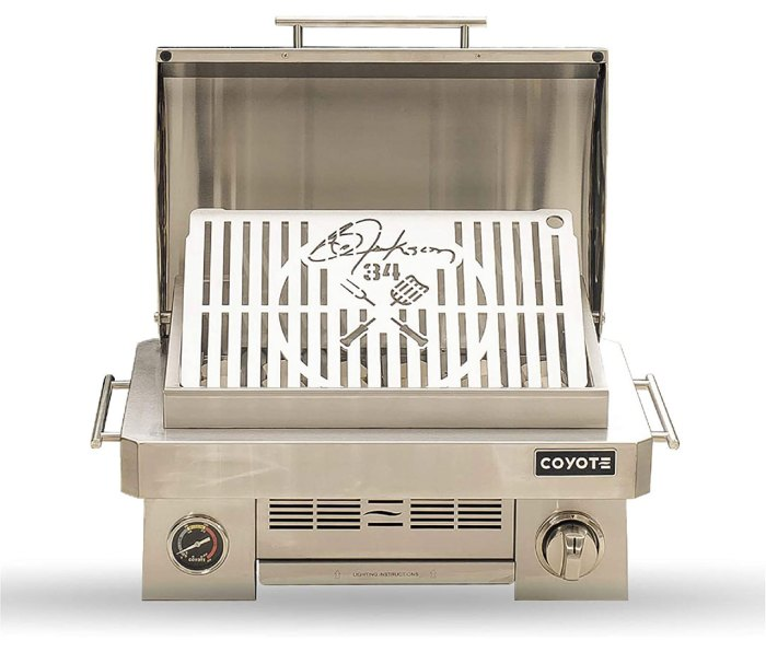 Bo Jackson Signature Portable Gas Grill by Coyote Outdoor