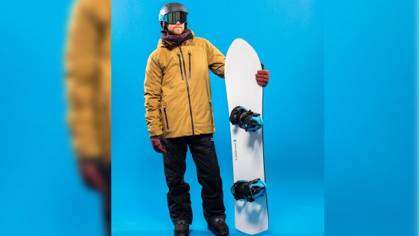 Snowboarding kit for the frontside