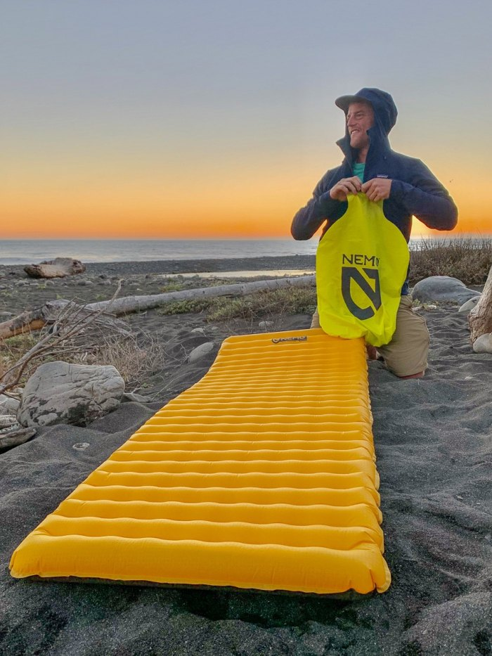 Nemo pad backpacking gear
