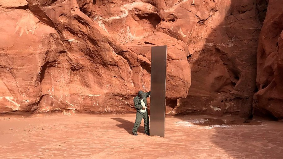 The curious case of the mysterious monolith in Utah