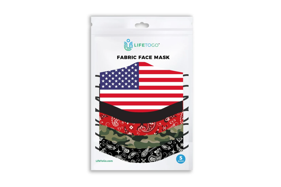 Fabric Face Mask 5 Pack