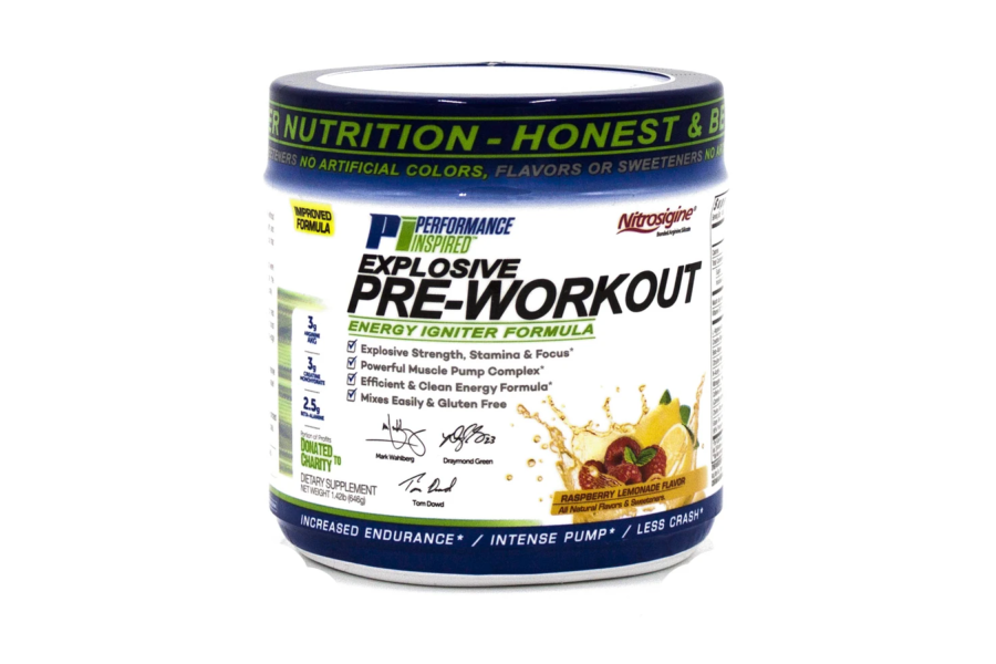 Performance Inspired Explosive Pre-Workout Energy Formula