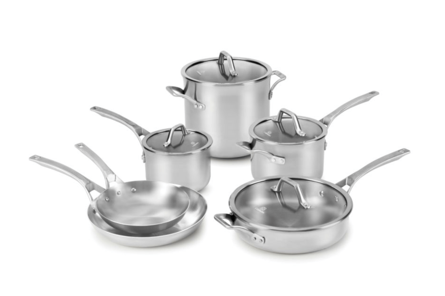 Signature™ Stainless Steel 10-Piece Cookware Set