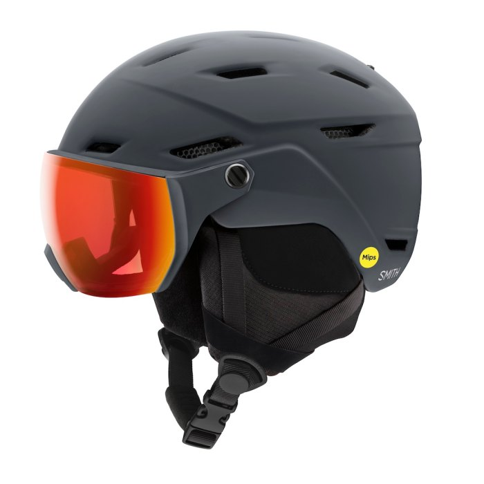 Smith helmet with integrated goggle