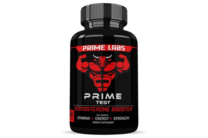 Prime Labs Test Booster