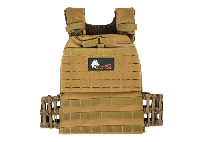 WOLF TACTICAL Adjustable Weighted Vest