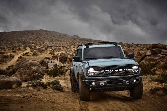 Ford Bronco badlans series