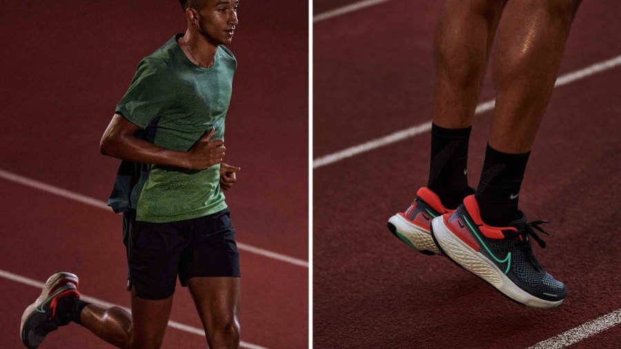 The Nike ZoomX Invincible Run in the lead men's colorway.