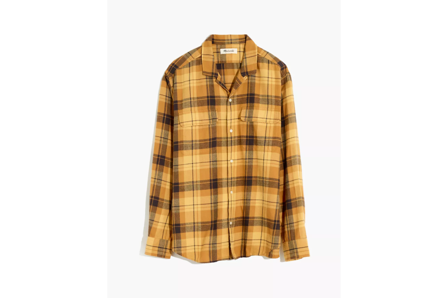 Brushed Cotton Easy Camp Shirt