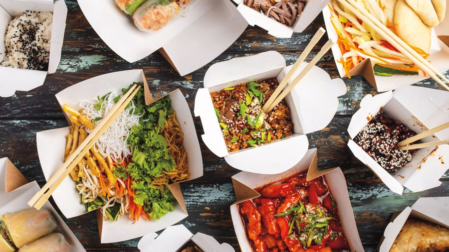 Chinese food takeout
