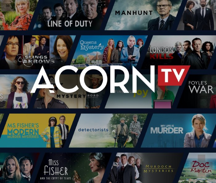 British and international television show streaming service Acron TV
