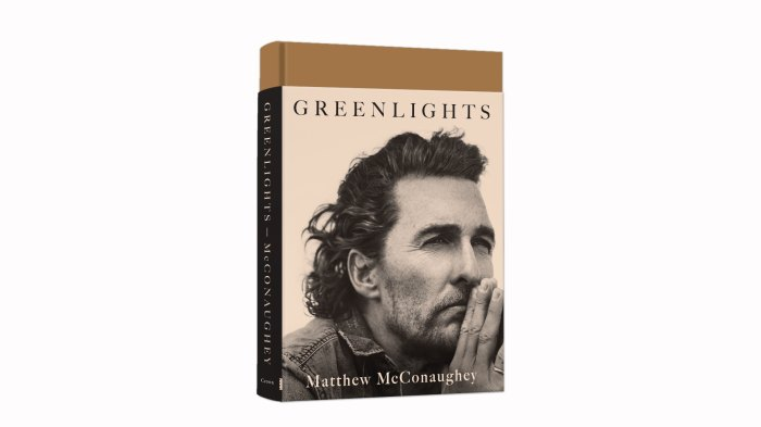 'Greenlights' book by Matthew McConaughey