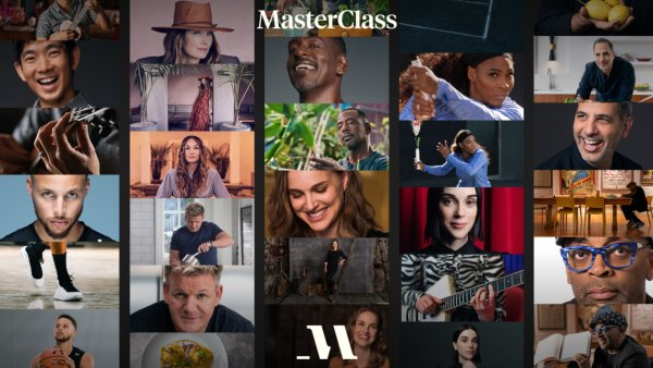 Compilation of MasterClass offerings