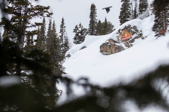 Travis Rice. Natural Selection Finals. Jackson Hole Mountain Resor