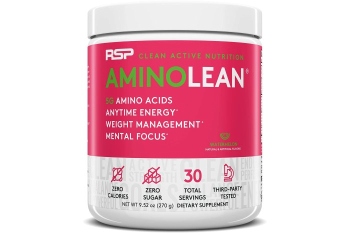 RSP AminoLean All-in-One Pre Workout