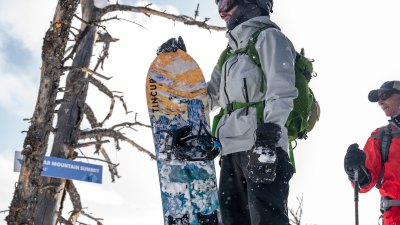 tincup whiskey skis splitboarding at Bluebird Backcountry