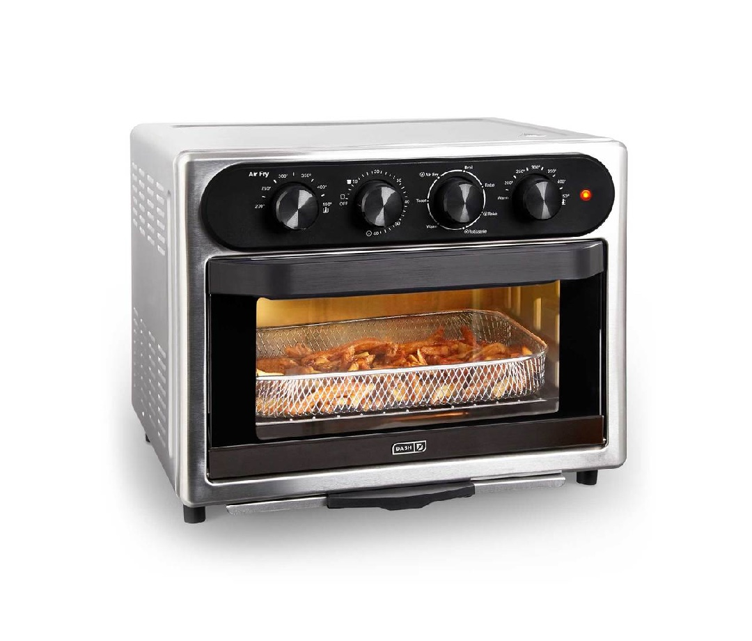 Dash Chef Series 23L Air Fryer Oven With Rotisserie
