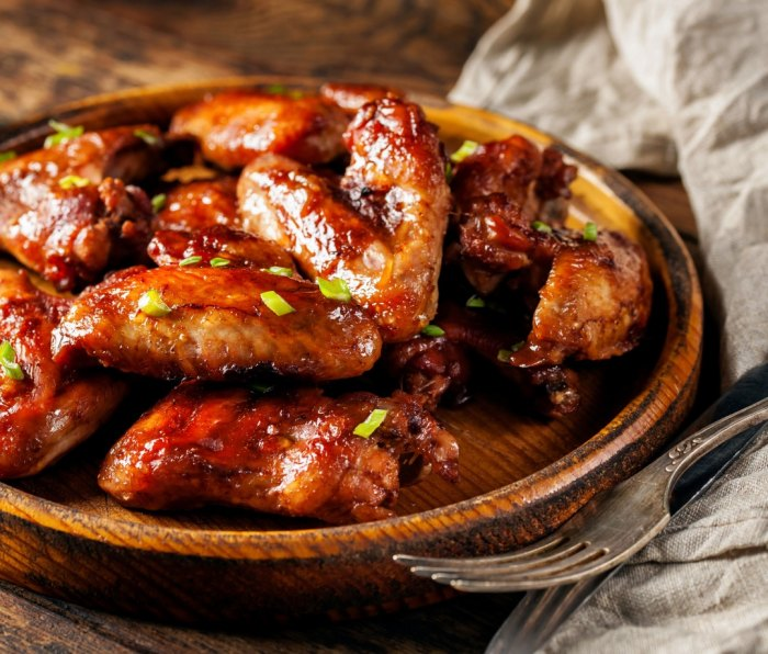 Guava BBQ Chicken Wings