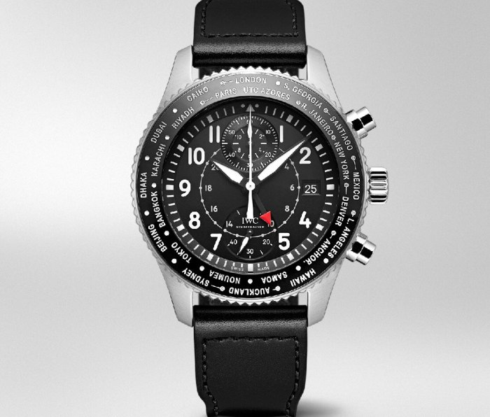 IWC Pilot's Watch Worldtimer Chronograph