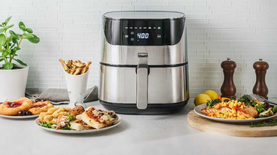 Made by Gather Bella Pro Series - 6.3-qt. Touchscreen Air Fryer