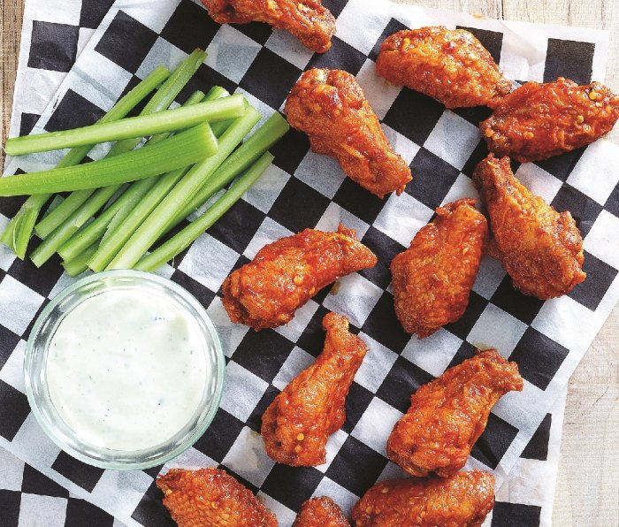 Fly-Off-the-Plate Rooster Wings