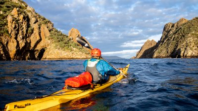Stewart Island New Zealand sea kayak expedition