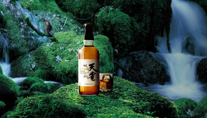 Sourced from 250 meters below the surface, Tenjaku uses some of the purest water on Earth make their whiskies.