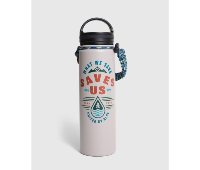 united by blue insulated water bottle