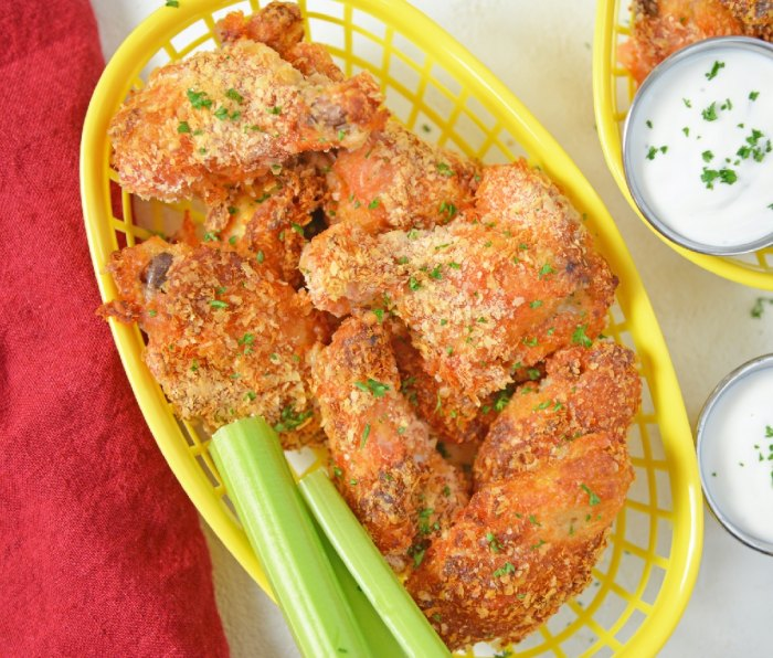 Home.fit garlicbuff The Best Wings Recipes to Make for the Super Bowl