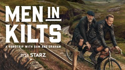 Scotland's own Sam Heughan and Graham McTavish Take Their 'Outlander' friendship on the road with 'Men in Kilts' series