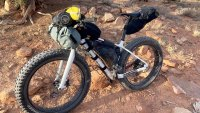 Essential gear for backcountry bike-rafting