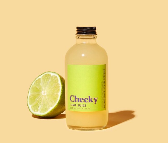 Cheeky lime cocktail mixer