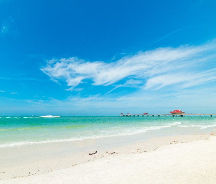 Beach in Clearwater, Florida