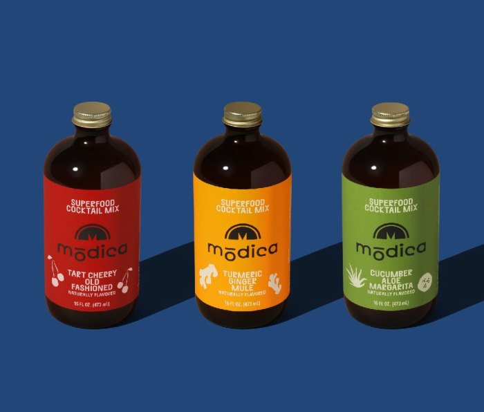 Modica superfood cocktail mixers